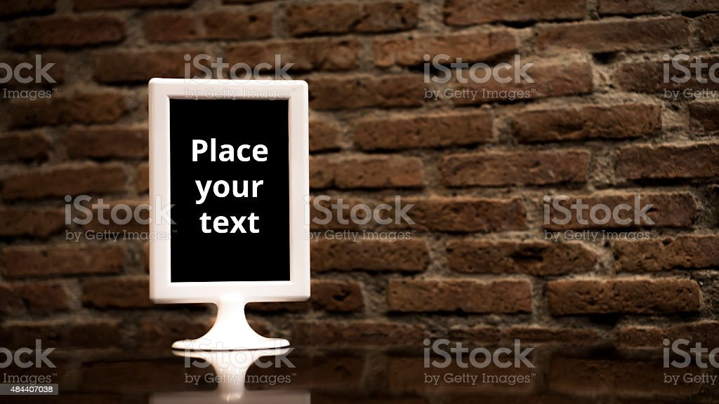 Featured menu setting on the table royalty-free stock photo