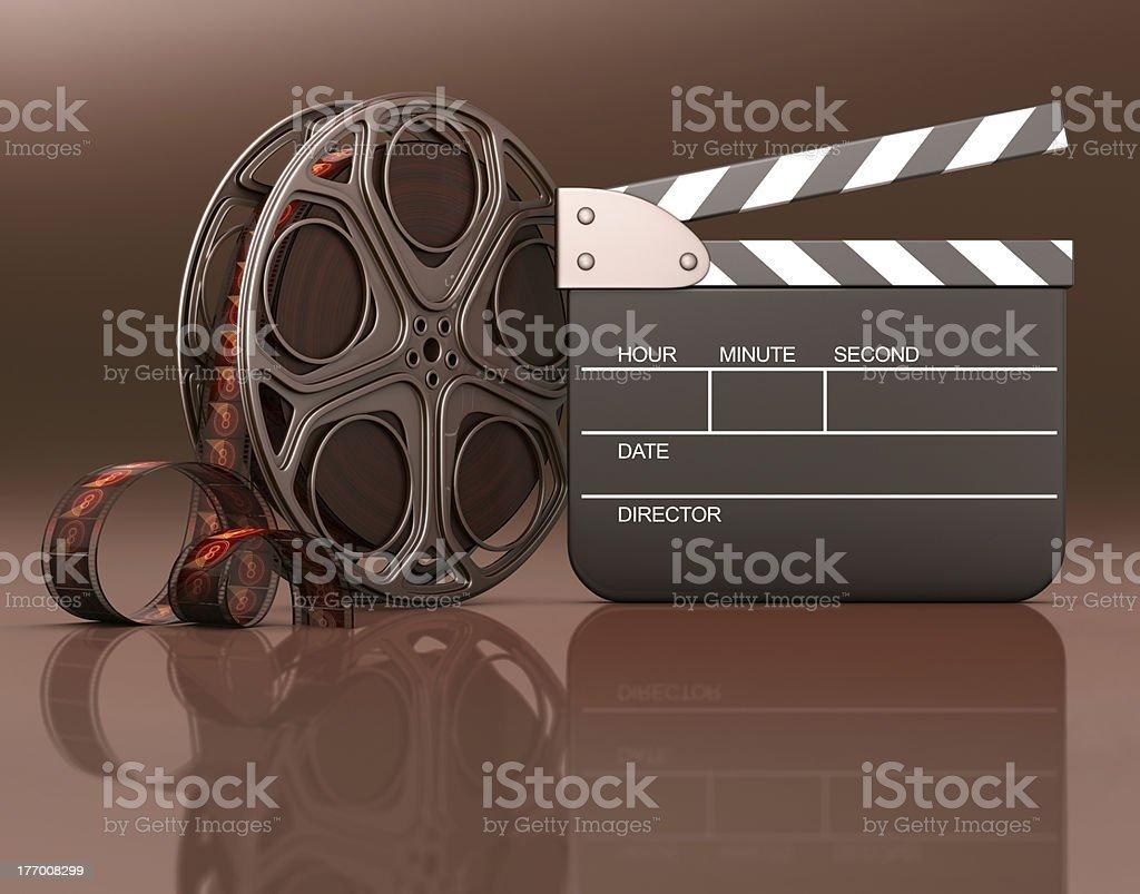 Featuring Movie stock photo