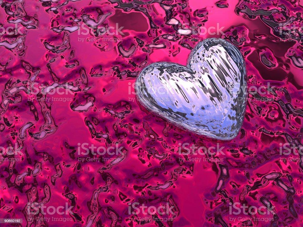 Feb 14th Valentine Heart 03 royalty-free stock photo