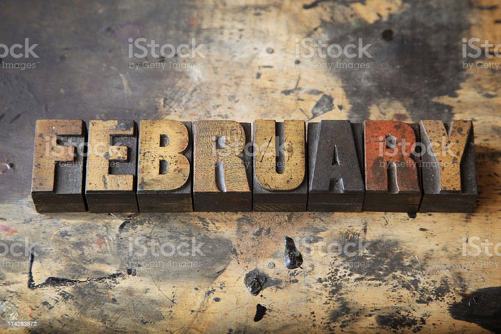 February... royalty-free stock photo