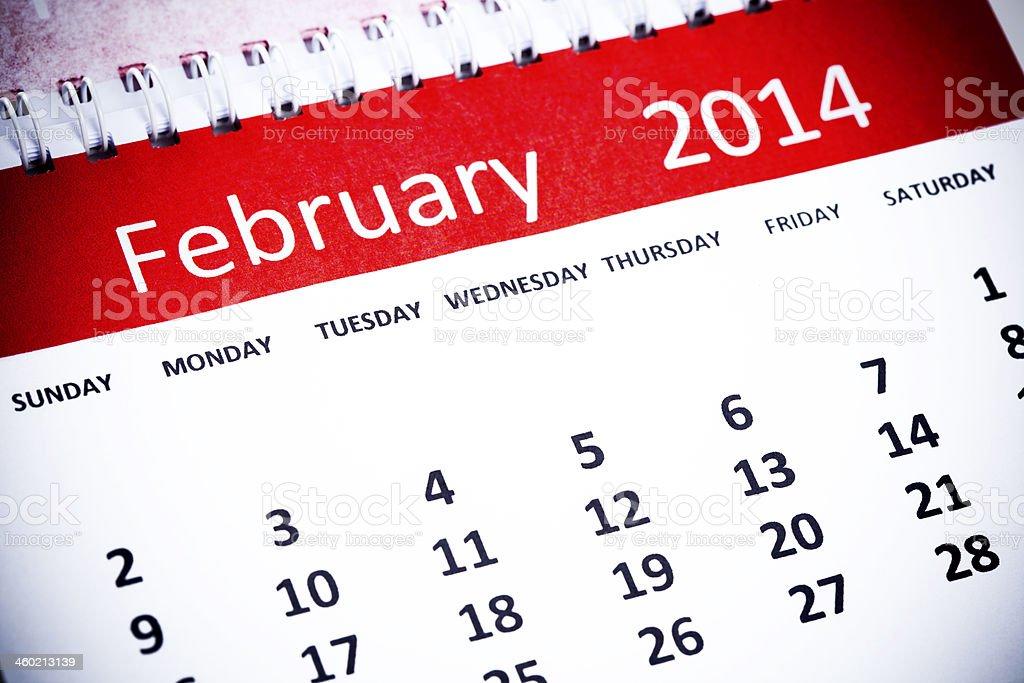 February royalty-free stock photo