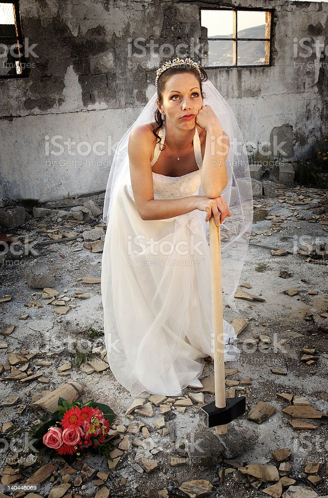 fed up royalty-free stock photo