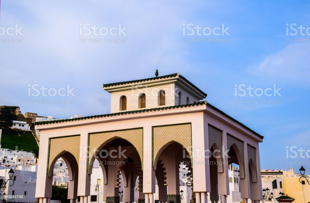 Feddan Place in Tetouan - Morocco stock photo