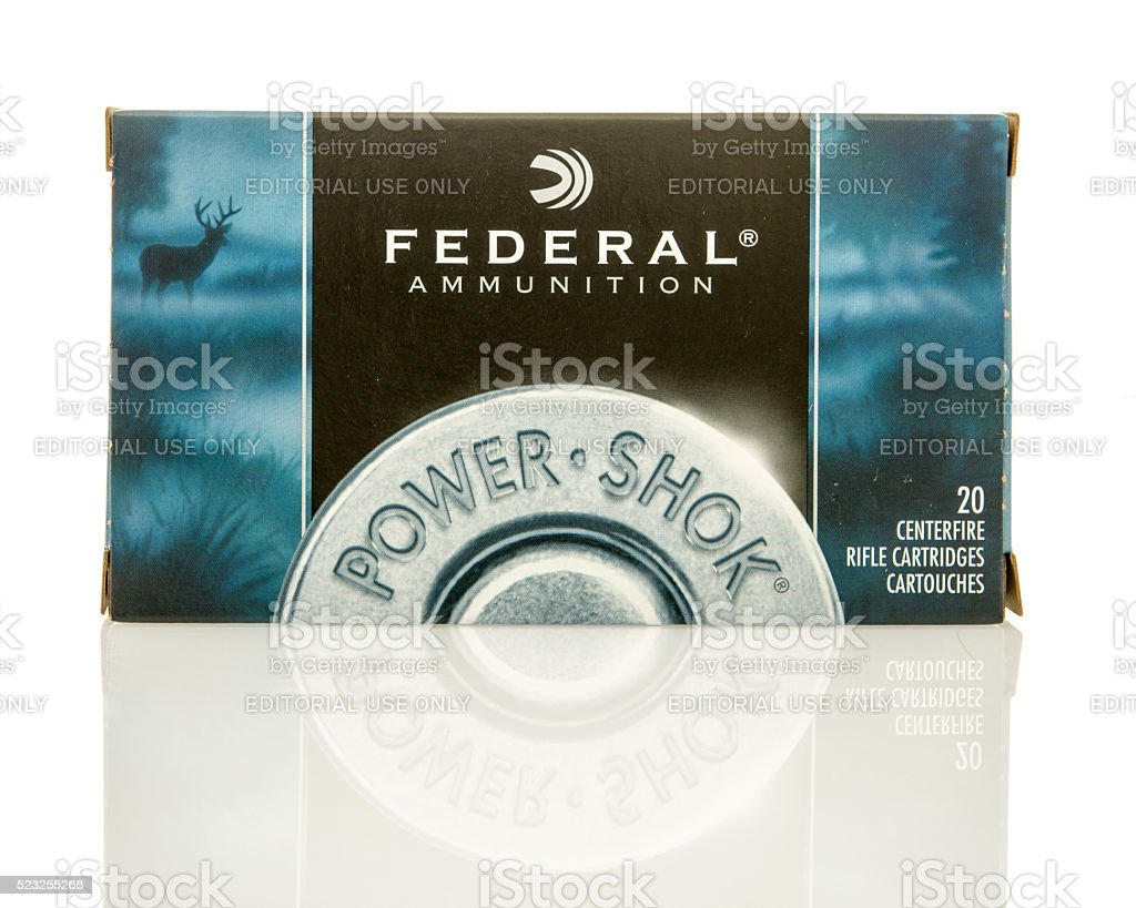 Federal 308 stock photo