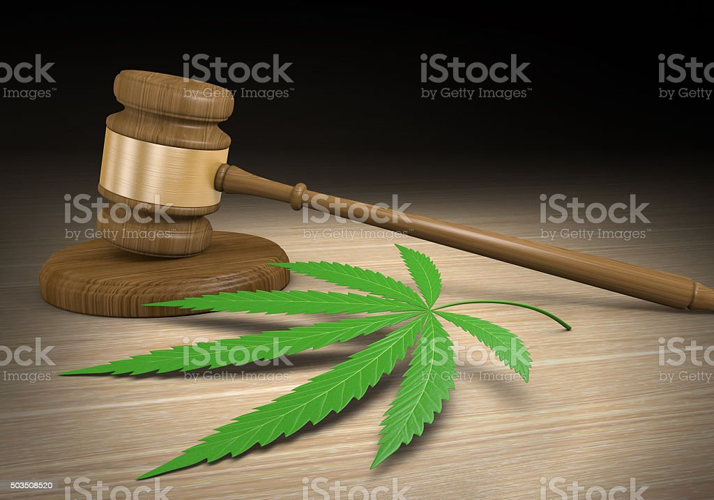 Federal and state laws regulating legal medical marijuana drug use stock photo