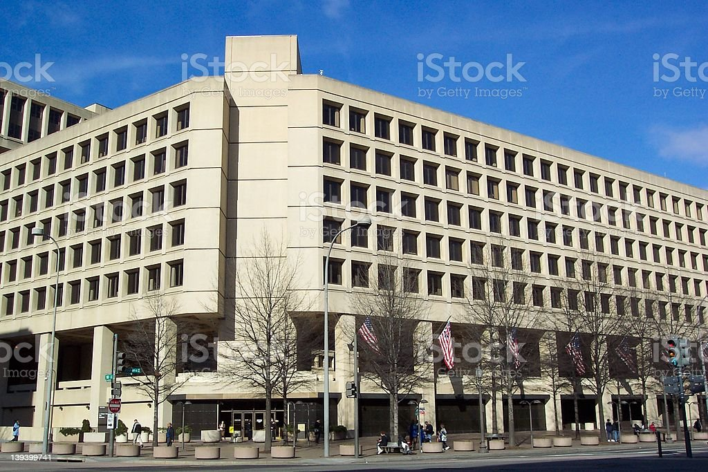 Federal Bureau of Investigation stock photo