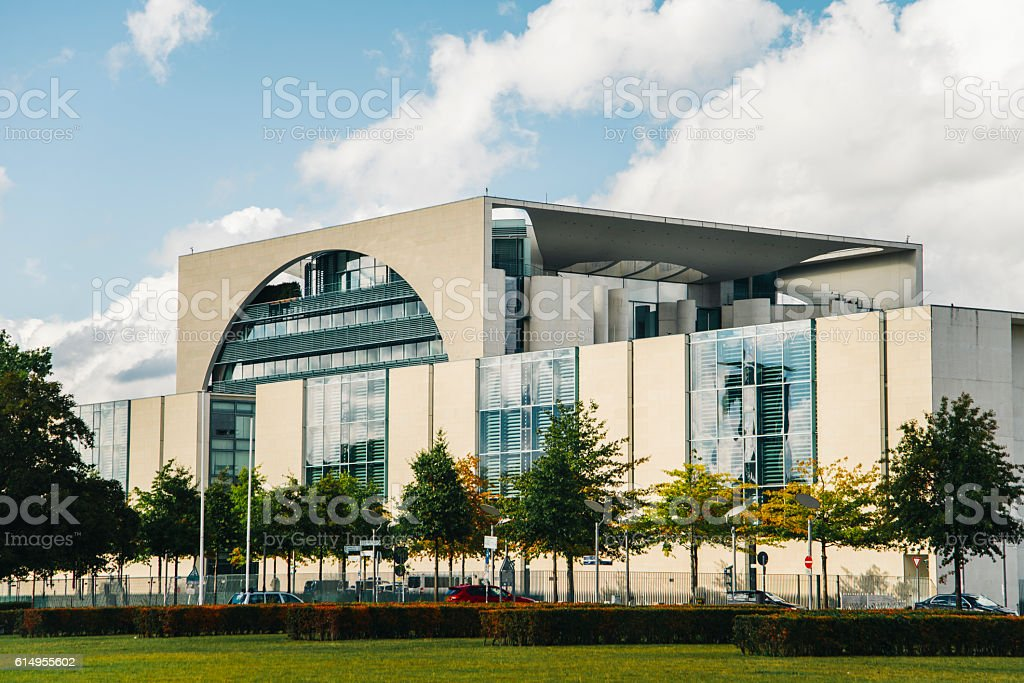 Bundeskanzleramt stock photo