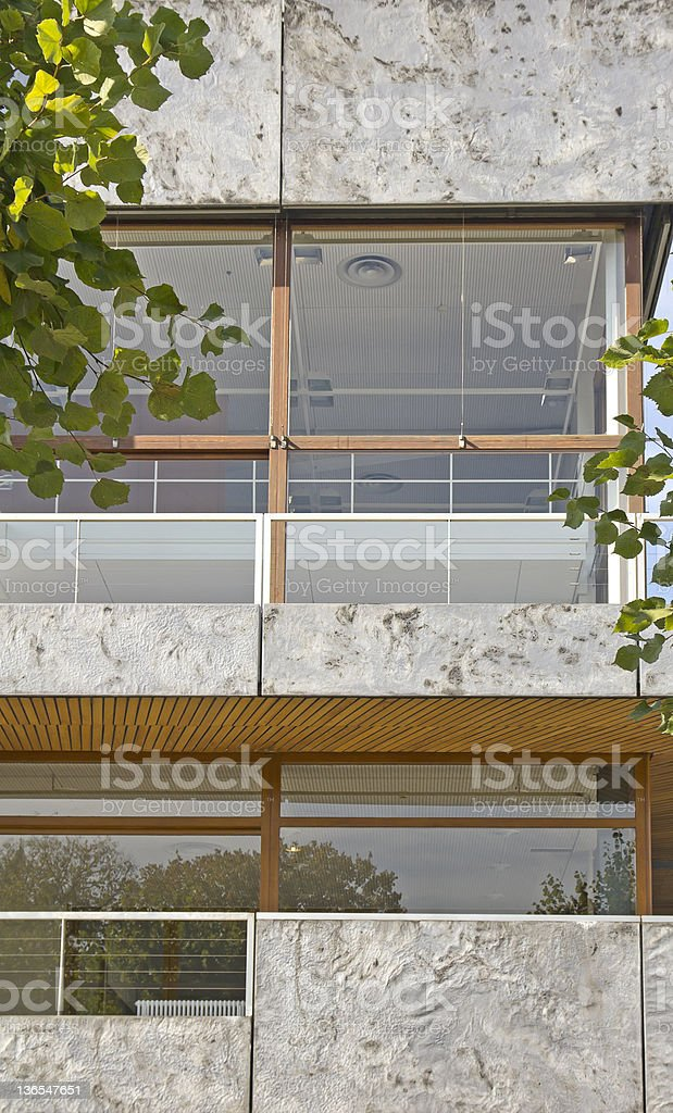 Federal Constitutional Court of Germany stock photo
