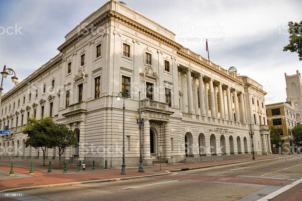 Federal Court of Appeals, New Orleans stock photo