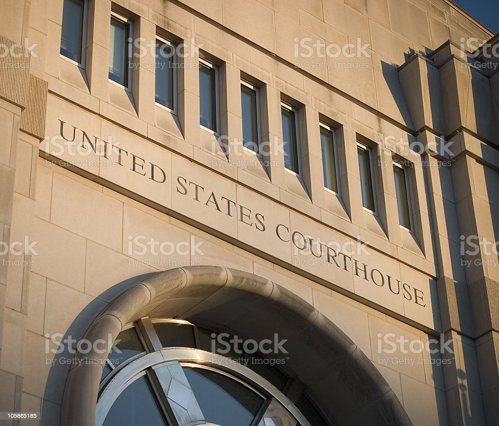 Federal Courthouse II royalty-free stock photo