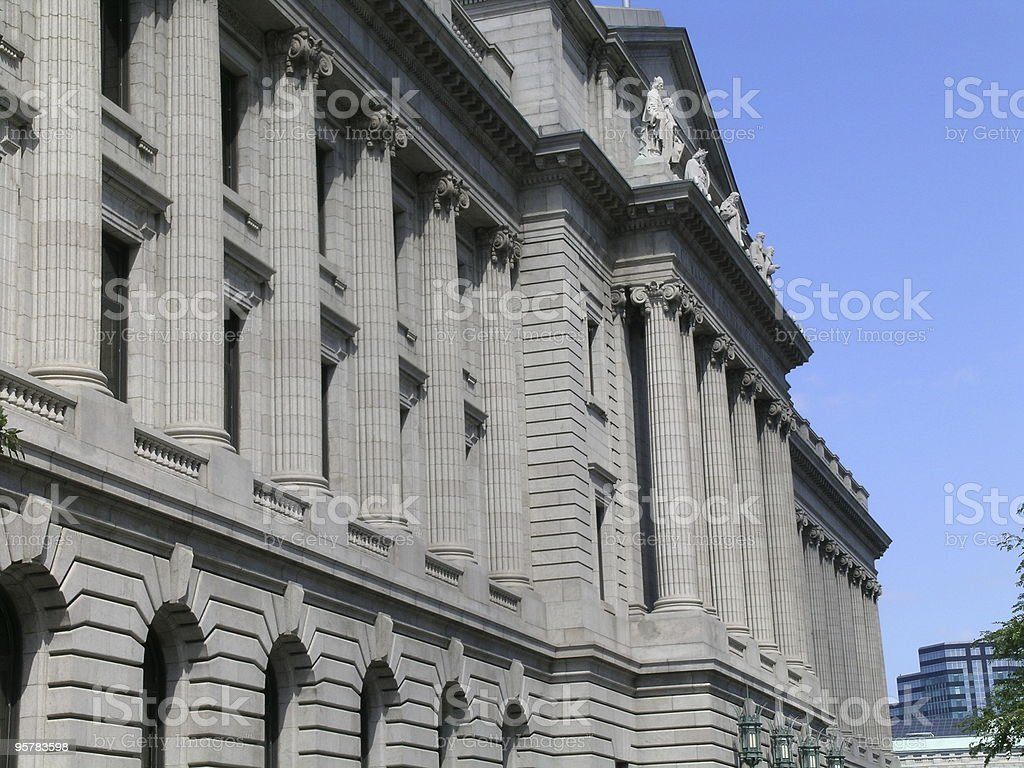 Federal Courthouse royalty-free stock photo