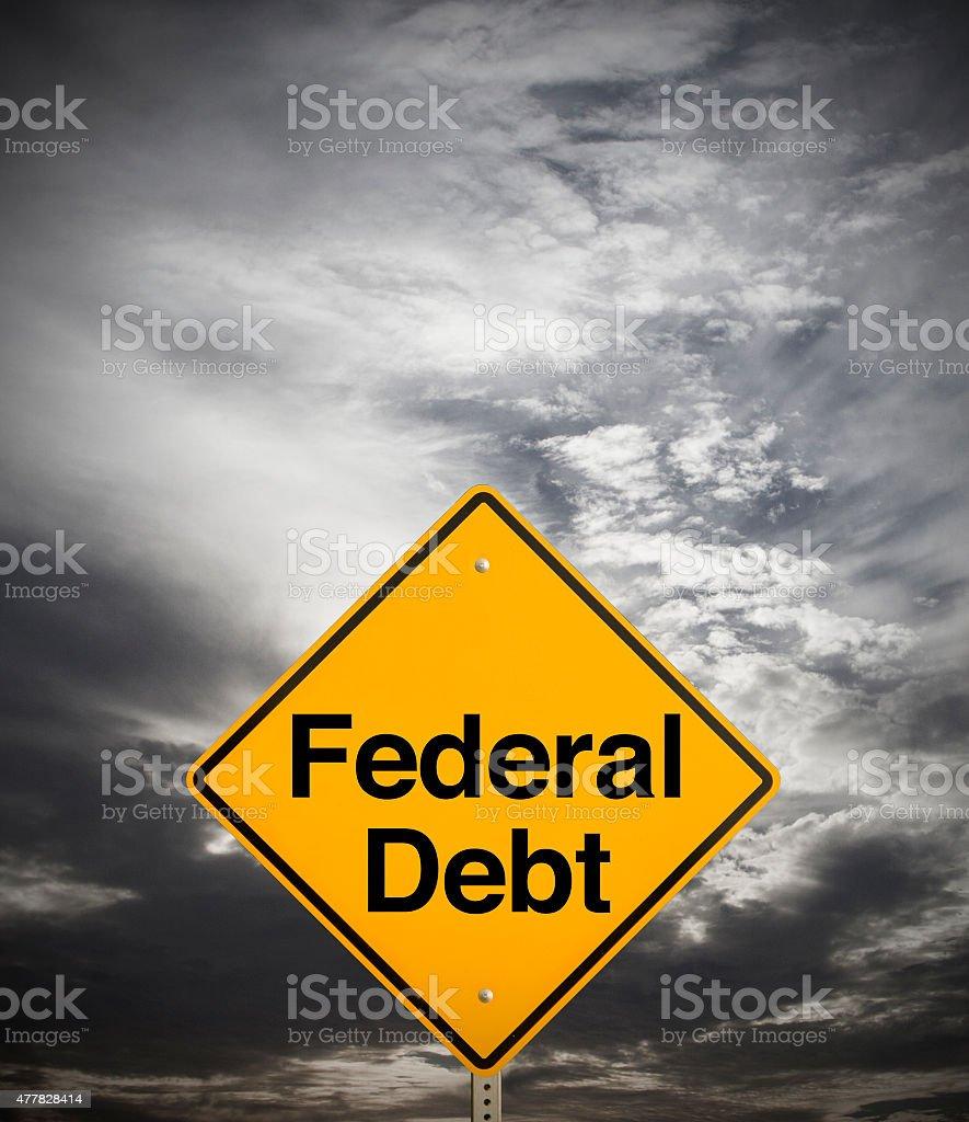 Federal Debt stock photo
