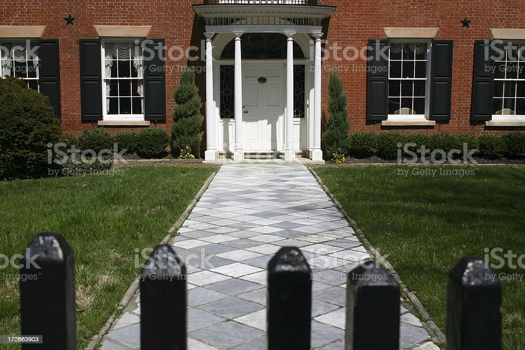 Federal Home stock photo