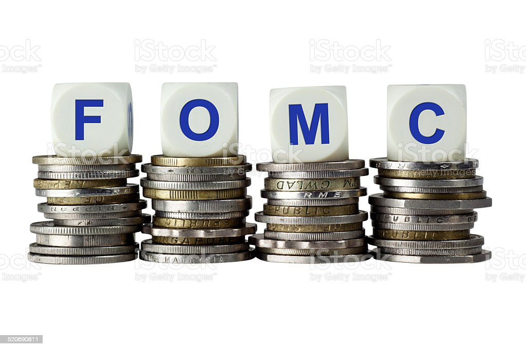 FOMC - Federal Open Market Committee stock photo