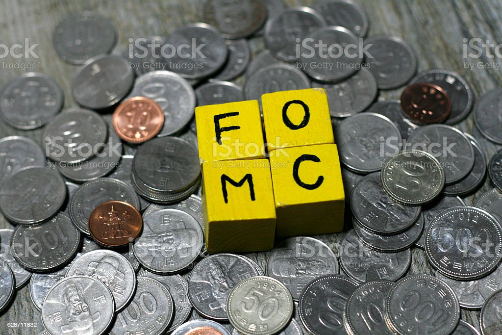 Federal Open Market Committee stock photo