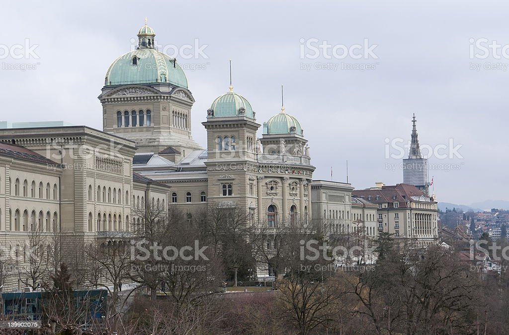 Bundeshaus stock photo