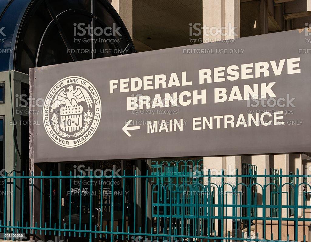 Federal Reserve Bank Branch, Denver stock photo
