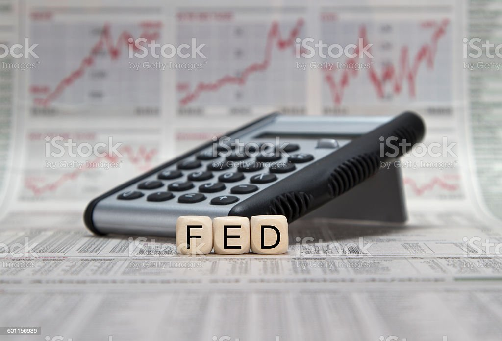 Federal Reserve Bank stock photo