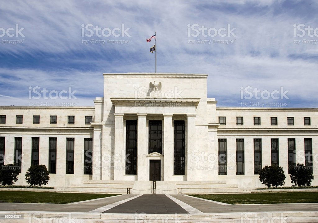 Federal Reserve Building royalty-free stock photo