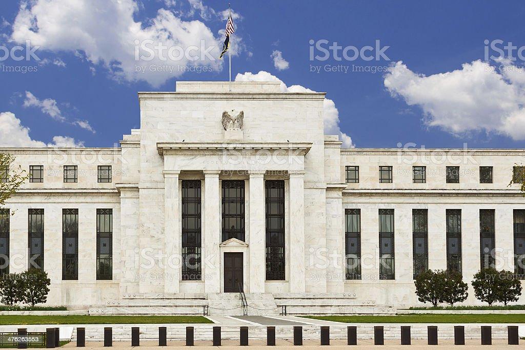 Federal Reserve Building, Washington DC stock photo