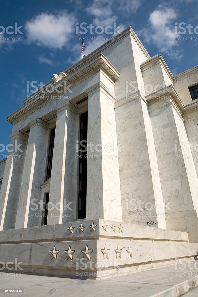 US Federal Reserve royalty-free stock photo