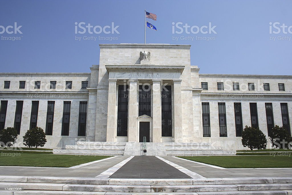 US Federal Reserve stock photo