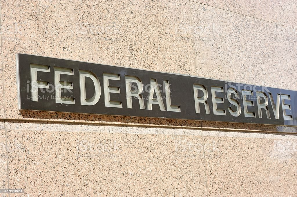 Federal reserve stock photo