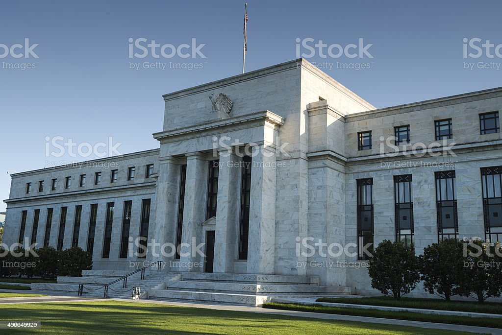 U.S. Federal Reserve stock photo