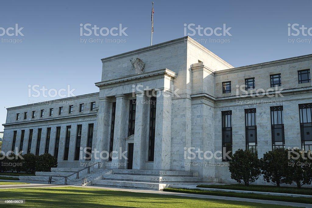 U.S. Federal Reserve stock photo