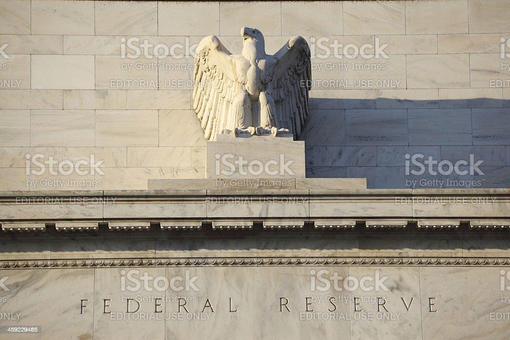 Federal Reserve, Washington DC, USA stock photo
