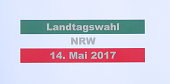 federal state election of NRW