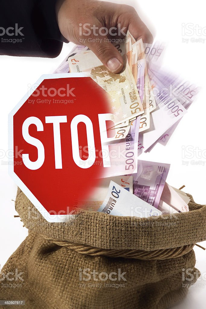federal tax spending stock photo