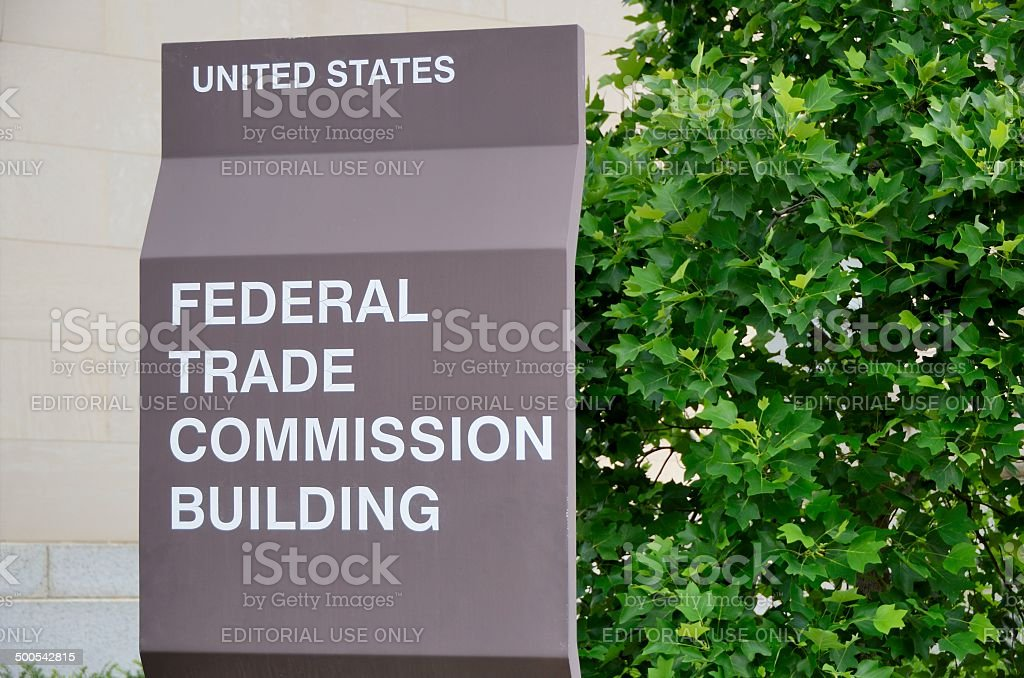 Federal Trade Commission stock photo