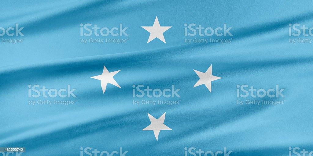 Federated States of Micronesia Flag stock photo