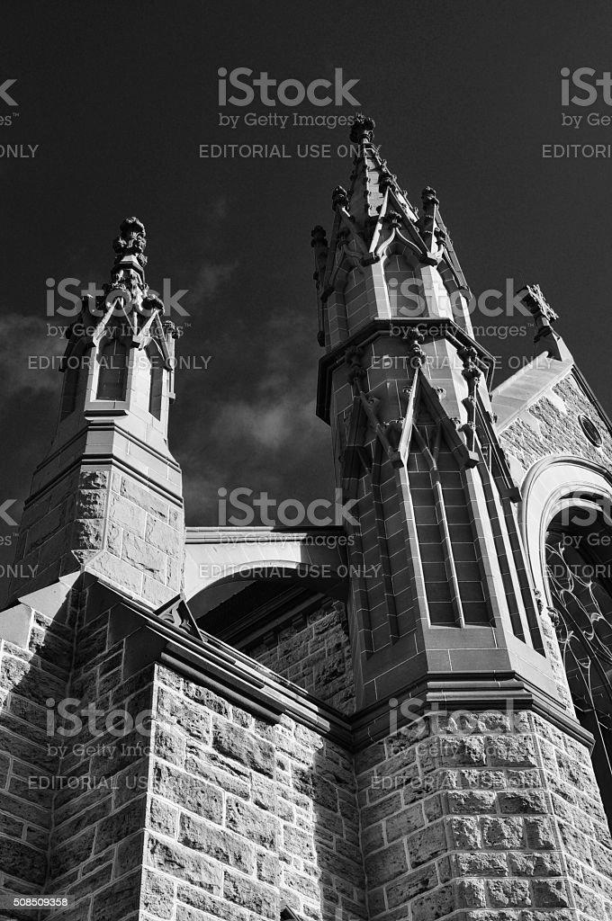Federation Gothic: St. Patrick's Basilica in Fremantle stock photo