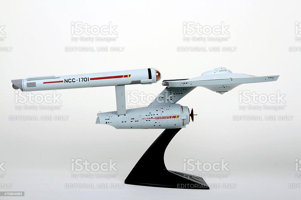 Federation Starship royalty-free stock photo