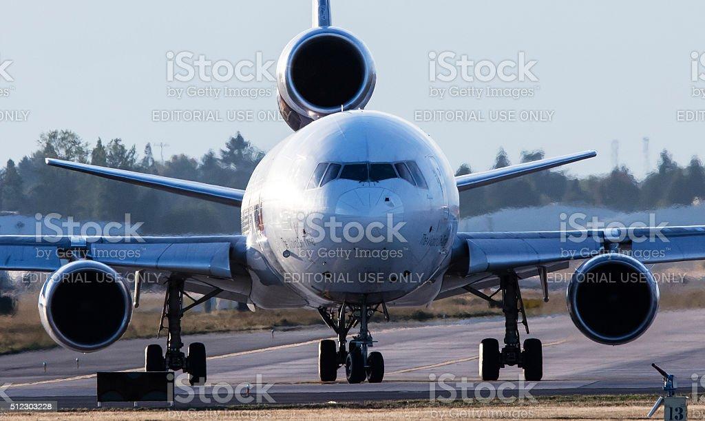 FedEx Express Cargo Plane stock photo