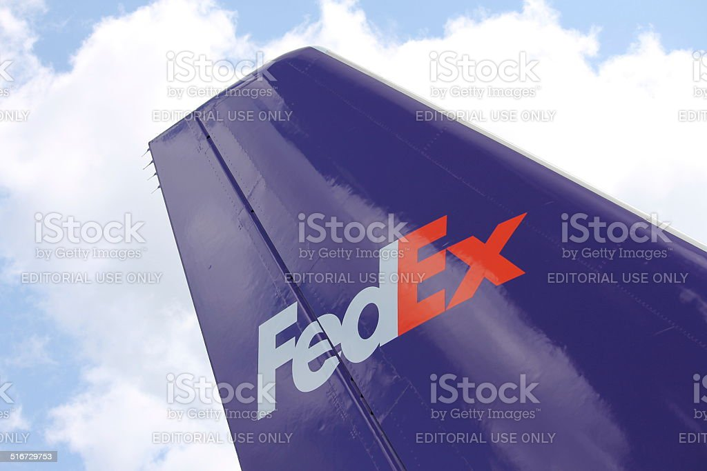 FedEx Express stock photo