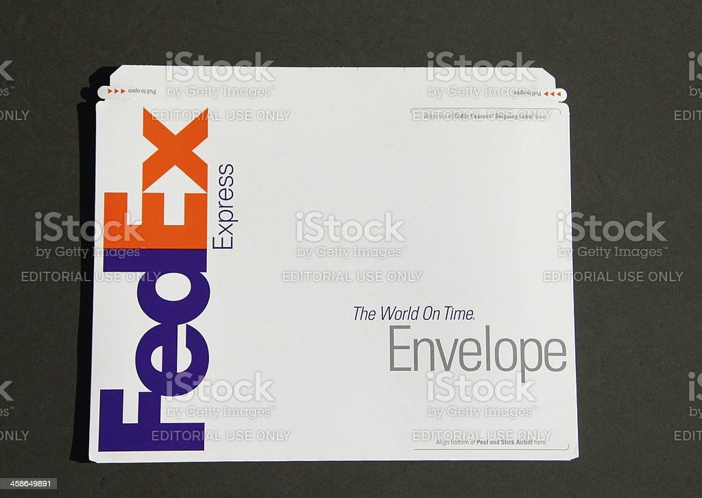 FedEx Large Envelope stock photo
