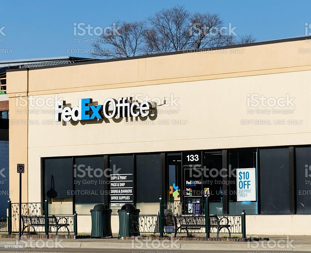 Fedex Office stock photo