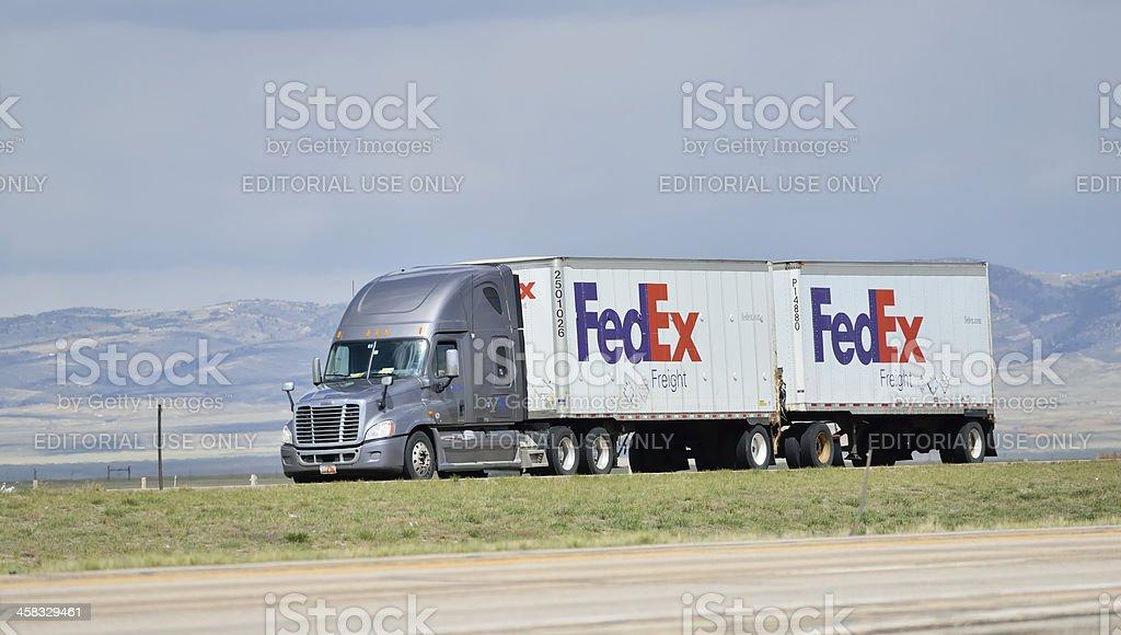 FedEx stock photo
