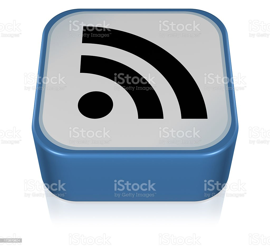 Feed or Rss Icon stock photo