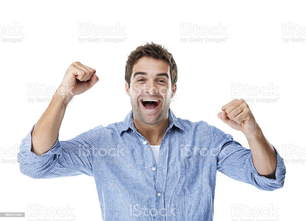 I feel fantastic! royalty-free stock photo