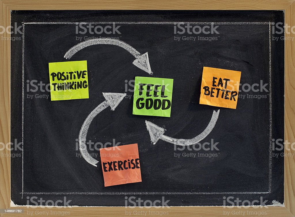 feel good concept royalty-free stock photo