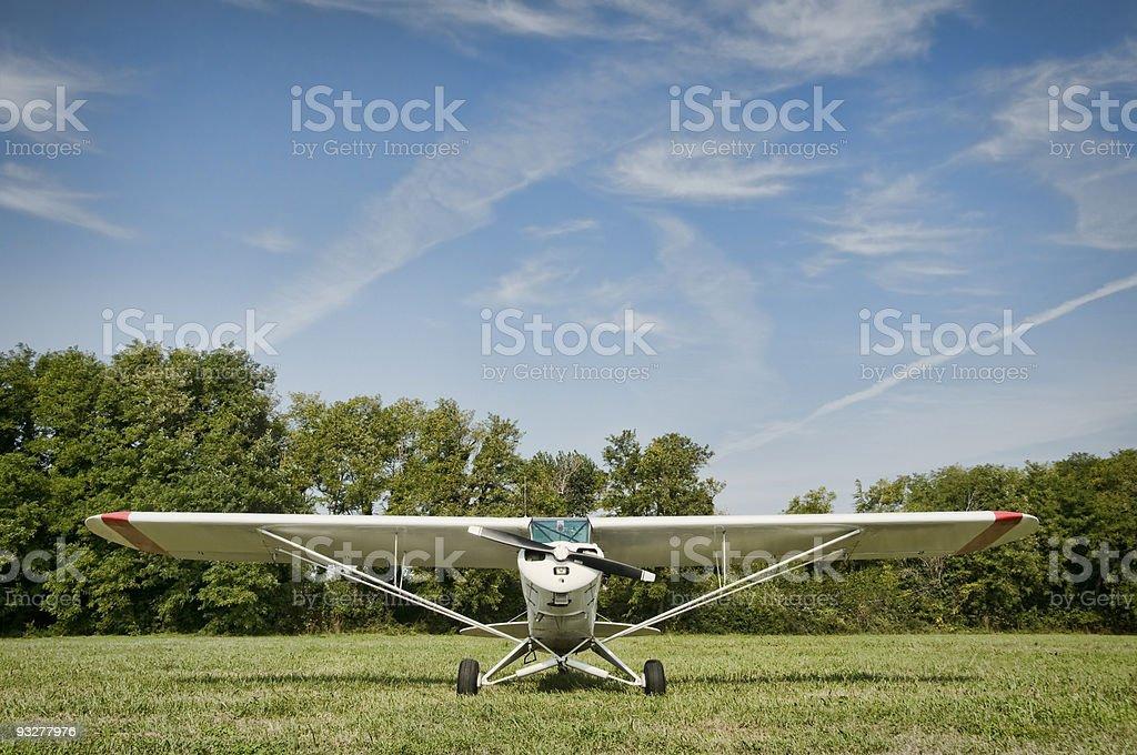 Feel of flying stock photo