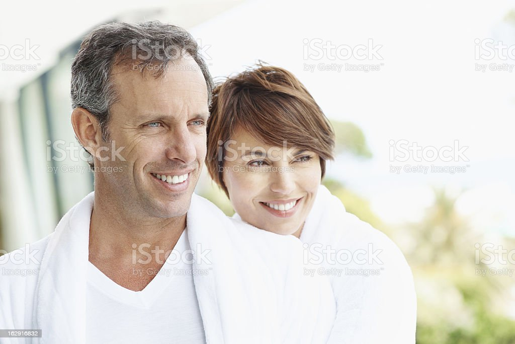 I feel so fulfilled by our love royalty-free stock photo