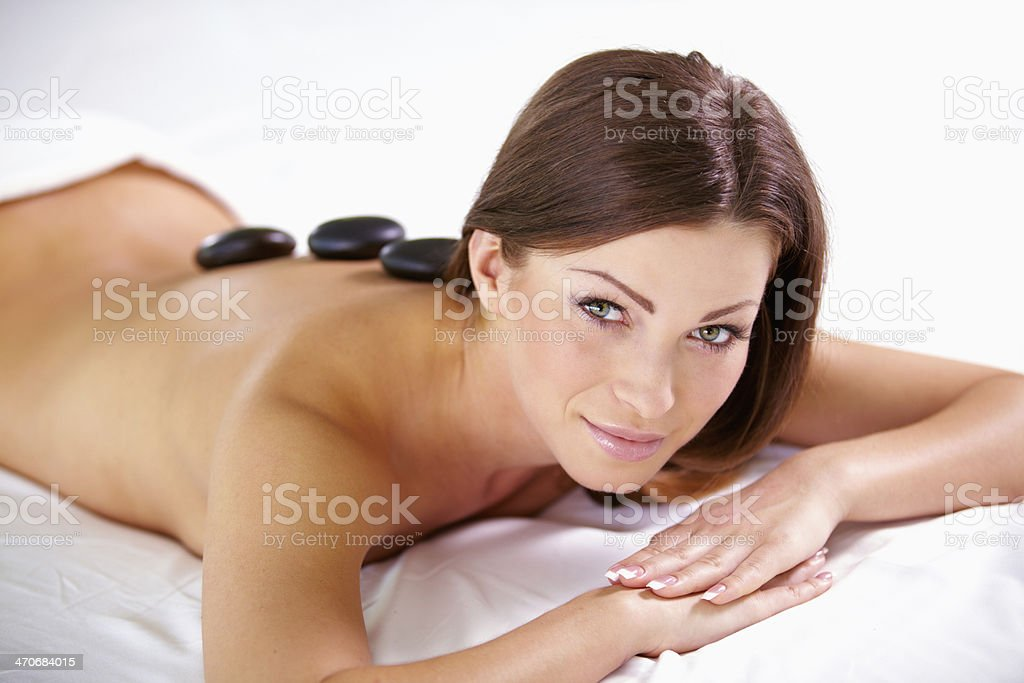 Feel that tingle down your spine royalty-free stock photo
