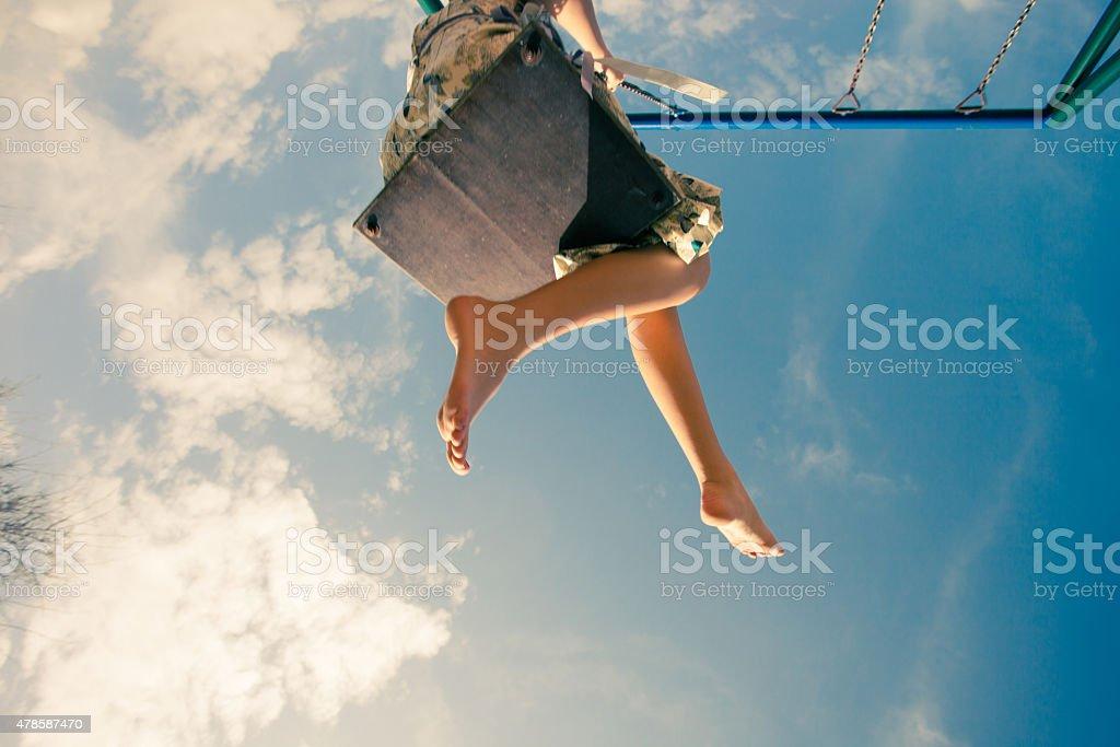 feel the air stock photo