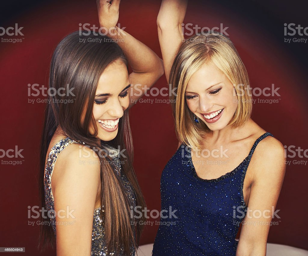 Feel the groove! stock photo