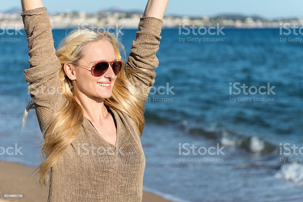 Feel the moment! stock photo